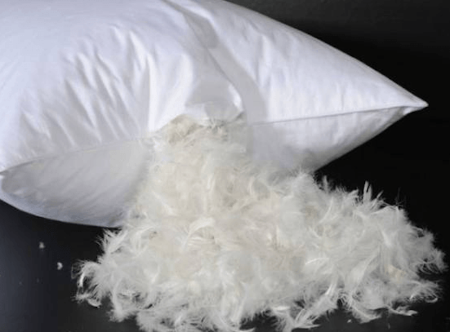 benefits of feather pillow